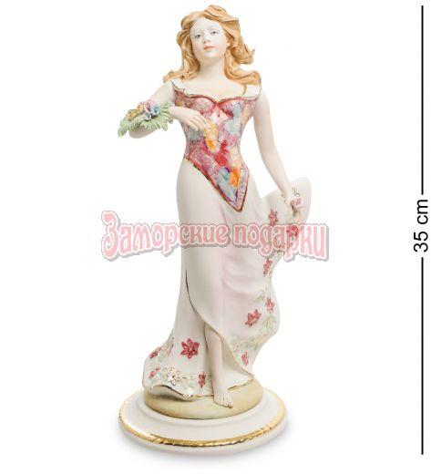 """Статуэтка """"Девушка с цветами"""" (Sabadin Vittorio)"""