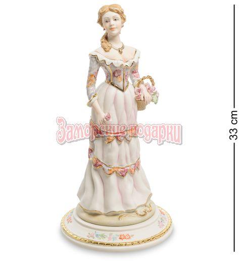 """Статуэтка """"Девушка с розами"""" (Sabadin Vittorio)"""