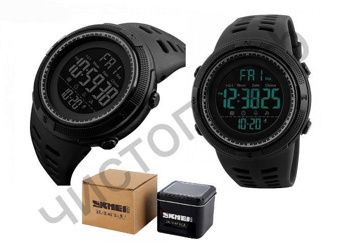 Часы наручные Skmei 1251 подсветка ,таймер , будильник Высокое качество Водонепроницаемые !