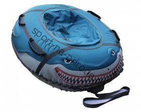 Тюбинг Митек «Акула» овал 125х110 см с камерой