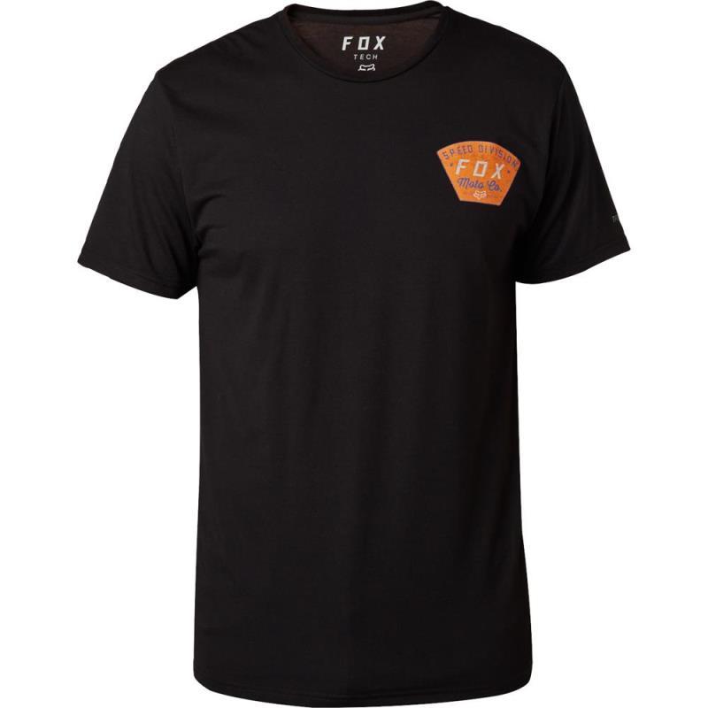 Fox - Seek And Construct SS Tech Tee Black футболка, черная