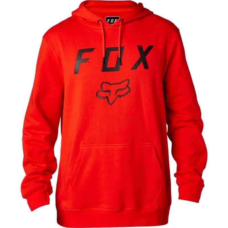 Fox - Legacy Moth Pullover Fleece Flame Red толстовка, красная