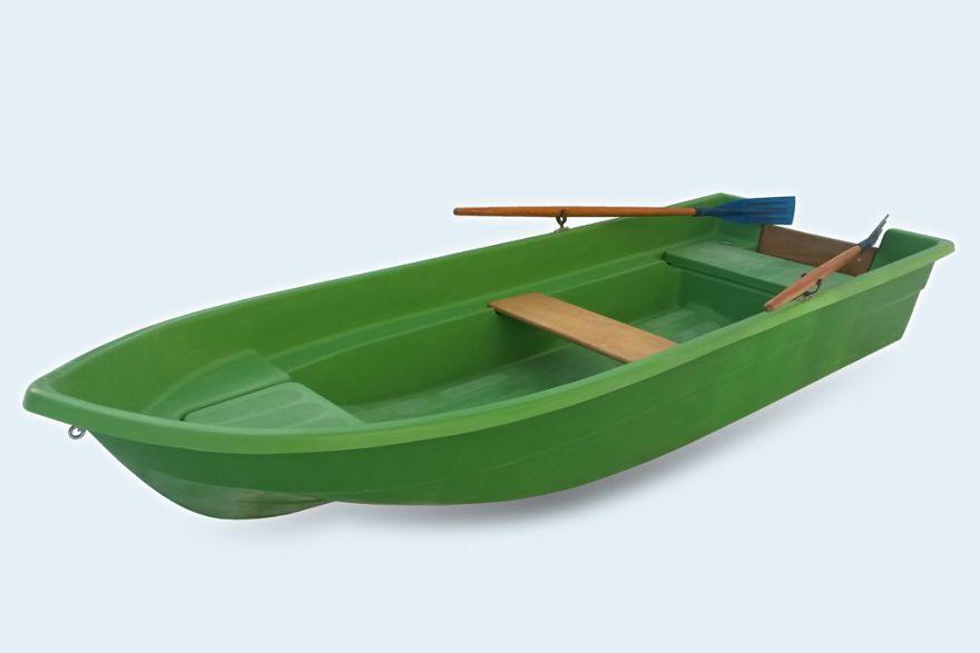 Моторно-гребная стеклопластиковая лодка картоп ВИЗА Легант-345