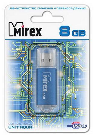 USB накопитель  8 ГБ  Mirex UNIT AQUA