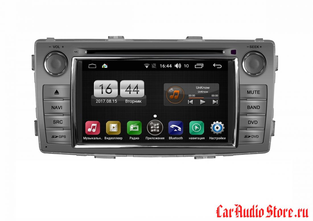 FarCar s170 для Toyota Hilux 2012+ на Android (L143)