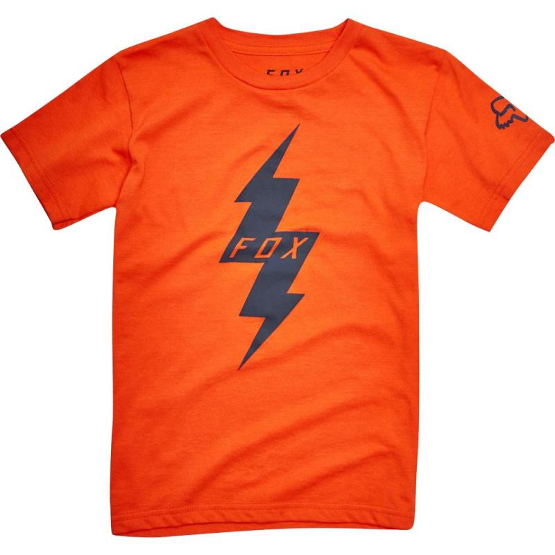 Fox - Kids Pre Mortum SS Tee Orange футболка детская, оранжевая