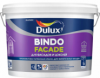 Краска для Фасада и Цоколя Dulux Bindo Facade 9л Белая / Делюкс Биндо Фасад