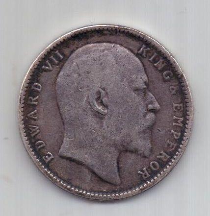 1 рупия 1904 г. Индия. Великобритания