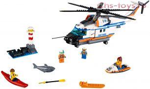 Конструктор Lele City Сверхмощный спасательный вертолет 39053 (Аналог LEGO City 60166) 439 дет