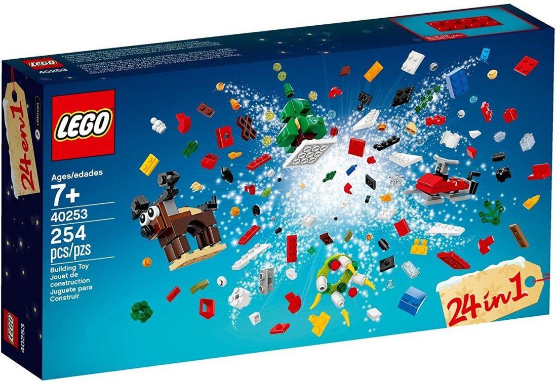 Рождественский календарь. Конструктор ЛЕГО Новый год 40253