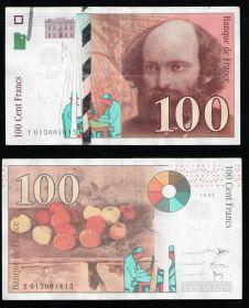 Франция 100 франков 1997