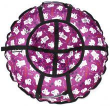 Тюбинг Hubster Люкс Pro Мишки розовые 120 см