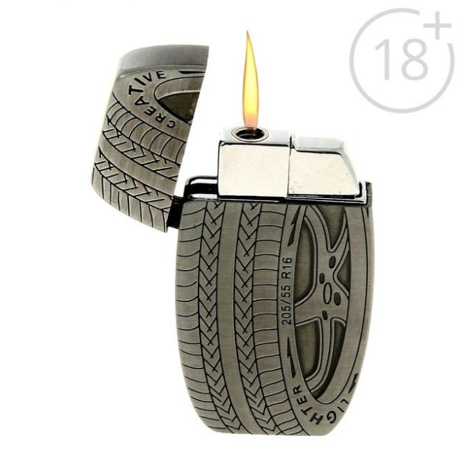 Зажигалка Автомобильное колесо