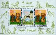 Северная Корея 1994. Фауна. Собаки. Китайский Новый год 2