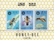 Корея КНДР 1979 насекомые пчелы серия блок