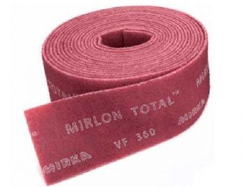 Шлифовальный войлок синтетический Mirka Мirlon 115ммx10м VF 360