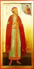 Феодор Московский (рукописная икона)