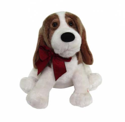 Поющая игрушка -  собачка Лопоухий кавалер.