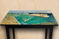 Наклейка на стол - Западная железная дорога | Купить фотопечать на стол в магазине Интерьерные наклейки