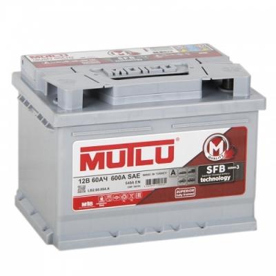 Автомобильный аккумулятор АКБ MUTLU (Мутлу) L2.60.054.B SMF 56082 60Ач П.П.