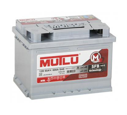 Автомобильный аккумулятор АКБ MUTLU (Мутлу) LB2.60.054.A SMF 56054 60Ач О.П.