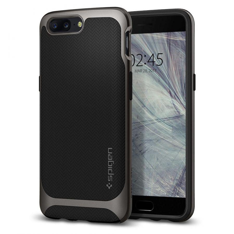 Чехол Spigen Case Neo Hybrid для OnePlus 5 стальной