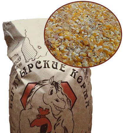 Микронизированный размол кукурузы 20 кг. Богатырские корма