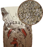 Микронизированные пшеничные хлопья 20 кг. Богатырские корма