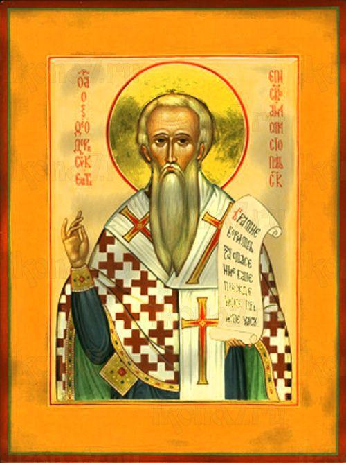 Феодор Сикеот (рукописная икона)