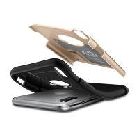 Чехол Spigen Slim Armor для iPhone X золотой