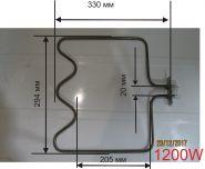 Тэн для электродуховки универсальный BEKO 1200 Вт