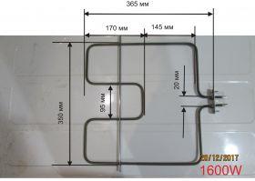 Тэн для электродуховки универсальный ARDO 1600 Вт