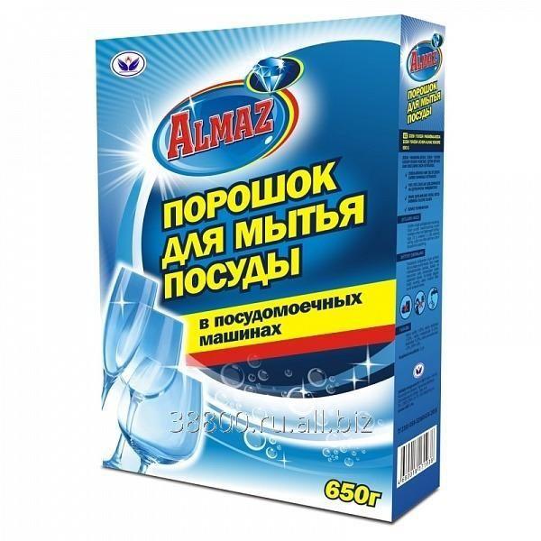 Порошок д/мытья посуды в посуд.машинах Алмаз 650г