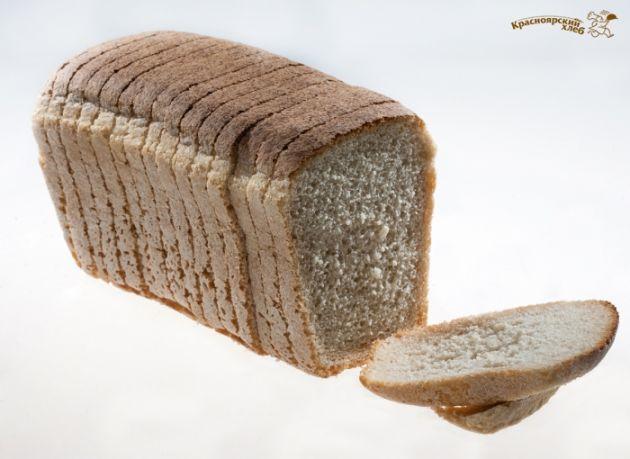 Хлеб Фирменный 1 сорт нарезка 600г Крас.хлеб