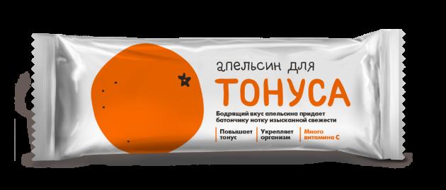 Батончик Худеем за неделю Апельсин для тонуса 25г