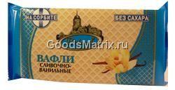 Вафли Вереск Сливочно-ванильные на сорбите 60г