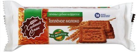 Печенье Хлебный Спас Топленое молоко на фруктозе 160г