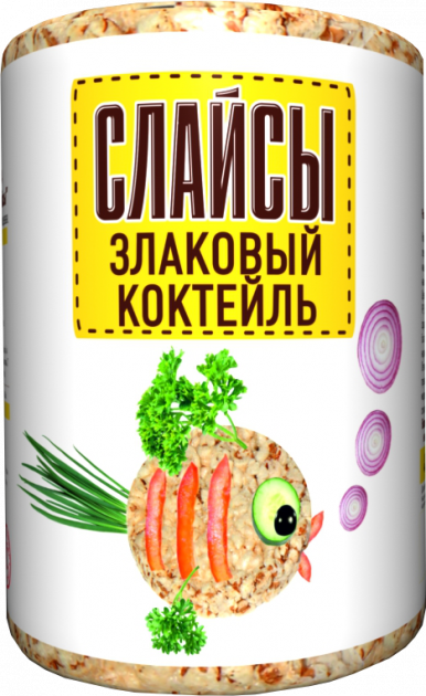 Слайсы Злаковый коктель 100г Бийск