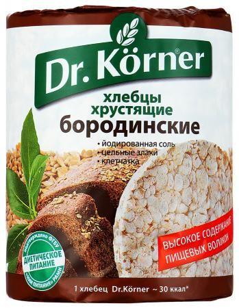 Хлебцы Д.Кернер Бородинские 100г