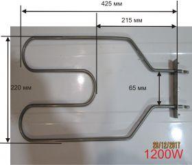Тэн электрической духовки универсальный ИТА, Лысьва  1200 Вт.