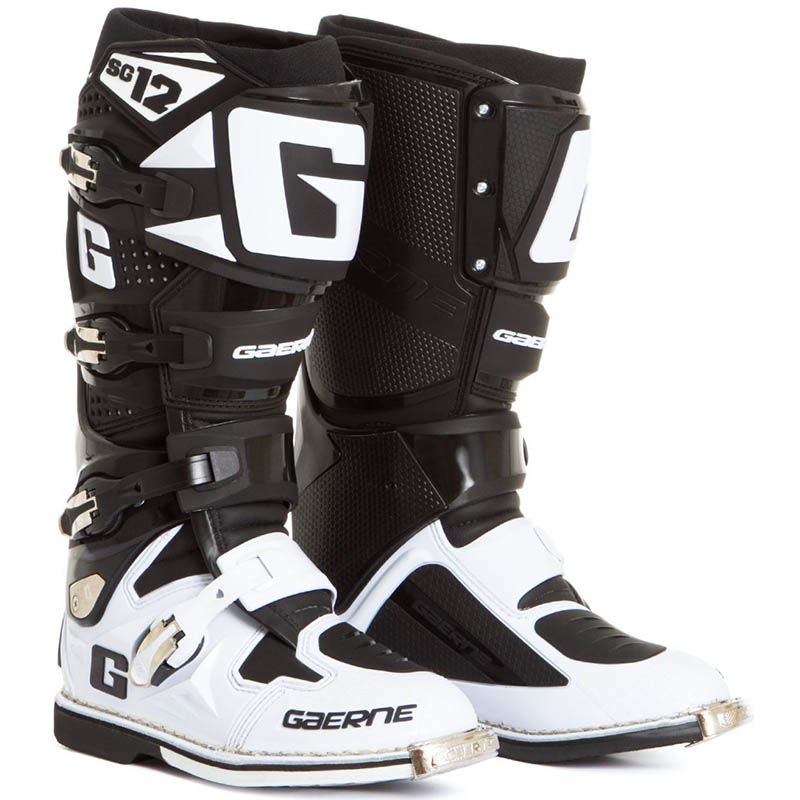 Gaerne - SG-12 Limited Edition мотоботы, черно-белые