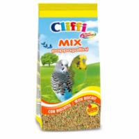 Корм Cliffi Смесь отборных семян с бисквитом для волнистых попугаев 1кг