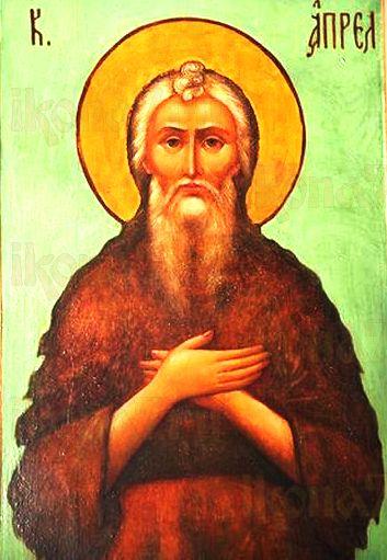 Феодор Трихина (Власяничный) (рукописная икона)