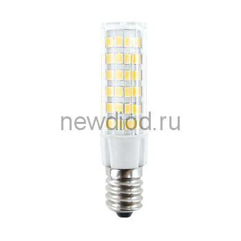 Лампа светодиодная Ecola T25 LED Micro 5,5W E14 4000K 340° кукуруза (для холодил., шв. машинки и т.д.) 55x17 mm
