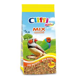 Корм Cliffi Смесь отборных семян с бисквитом для экзотических птиц 1кг