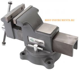 GV-STM04 Тиски слесарные 100 мм GARWIN