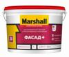 Краска Фасадная Marshall Фасад Плюс 2.5л Глубокоматовая / Маршалл