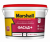Краска Фасадная Marshall Фасад Плюс 9л Глубокоматовая / Маршалл