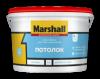 Краска для Потолков Marshall Потолок 9л Глубокоматовая / Маршалл