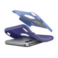 Чехол Spigen Slim Armor для iPhone X сиреневый